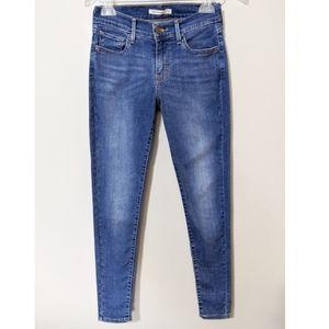🆕 Levi 710 Super Skinny Stretch Denim Jean's 27